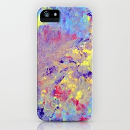 blue improv iPhone Case