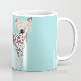 chinese crested funny farting dog breed gifts Coffee Mug