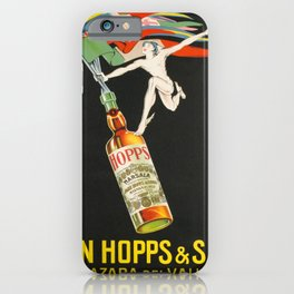 poster john hopps sons mazaro del vallo iPhone Case