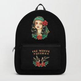 Gipsy tattoo Backpack