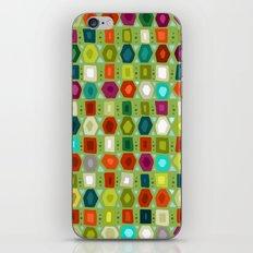 hex strip green iPhone & iPod Skin