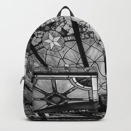 The Driskill - Black and White Backpack