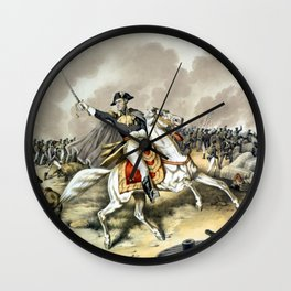 Andrew Jackson At The Battle Of New Orleans Wall Clock