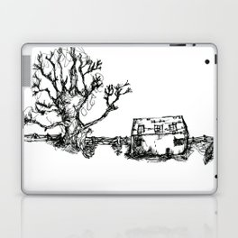 Farm and old wooden fence Laptop & iPad Skin