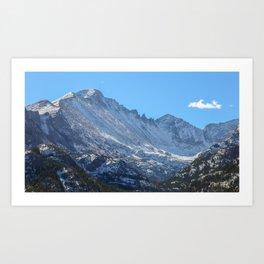 Rocky Mountains 1 Art Print