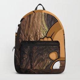Teddy Bear wake up Backpack