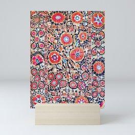 Shakhrisyabz Suzani Uzbek Embroidery Print Mini Art Print