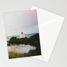 Film photo of the lighthouse at Bluff, NZ Stationery Cards