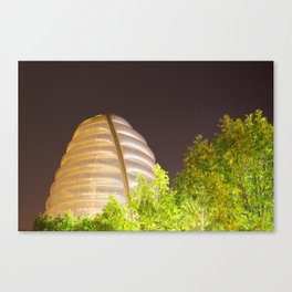 Space centre 2 Canvas Print