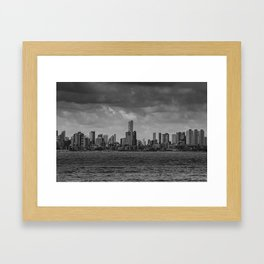 Jampa City Framed Art Print