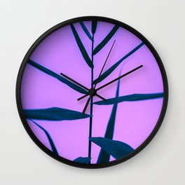 Reach to the Sky at Sunset 3 Wall Clock