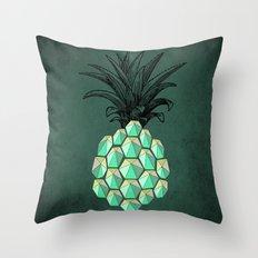 pineapple anatomy 4 Throw Pillow