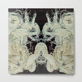 506 Gargoyle Twins Metal Print