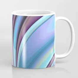Abstract Fractal Colorways 02PrBl Coffee Mug
