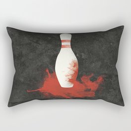 There Will Be Blood Movie Poster Bowling Pin Rectangular Pillow