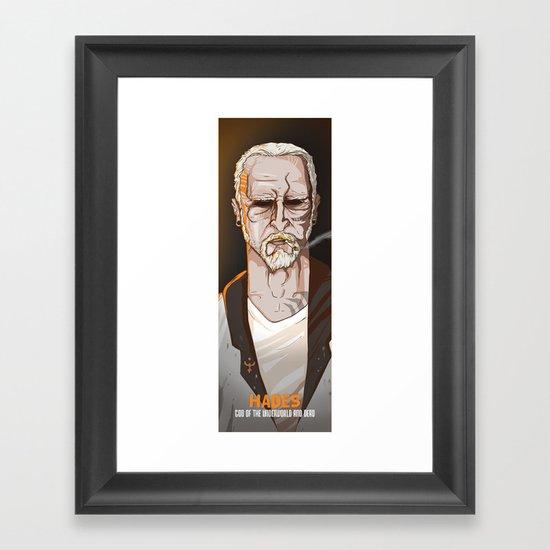 HADES Framed Art Print