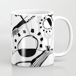 Freezing in Sunlight - b&w Coffee Mug