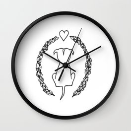 Ivy Pit  Wall Clock
