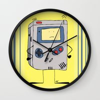wiz khalifa Wall Clocks featuring Play Wiz Me , in color. by ingicoPhotoDesign