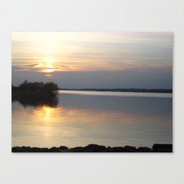 Sunset, Lough Derg - Ireland Canvas Print