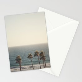 Golden Hour over Pacific Coast Highway Stationery Cards