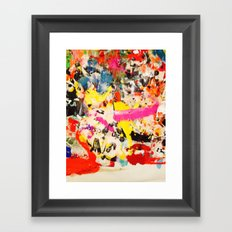 RAG Framed Art Print