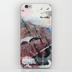 Graceful Attempt iPhone & iPod Skin