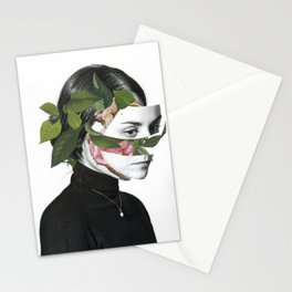 First self portrait Stationery Cards