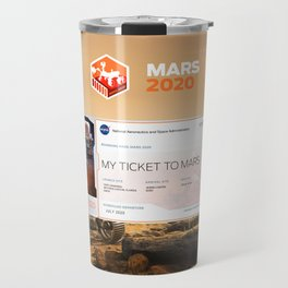 Mars 2020 Ticket Travel Mug
