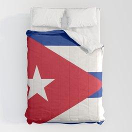 Flag of Cuba Comforters