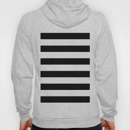 Black & White Stripes- Mix & Match with Simplicity of Life Hoody