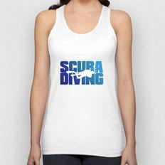 Scuba Diving Unisex Tank Top