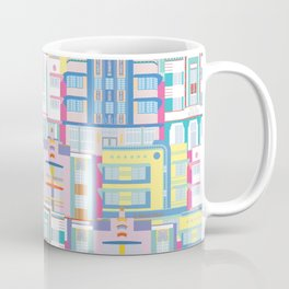 Miami Art Deco Landmarks Coffee Mug