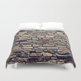 Brick Wall Pattern Duvet Cover