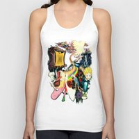 final fantasy Tank Tops featuring Final Adventure Fantasy Time! by Noel Castillo