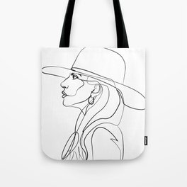 Lady Ga Tote Bag