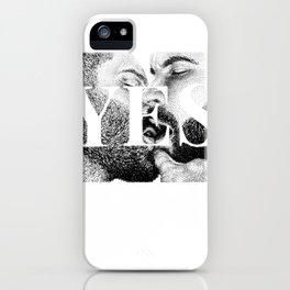 Yes - Nood Doods iPhone Case