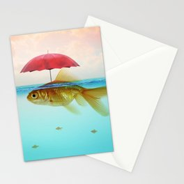 Under Cover Goldfish Stationery Cards