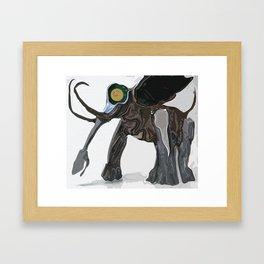 Pillaiyar Framed Art Print