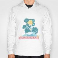 cinderella Hoodies featuring Cinderella by LindseyCowley