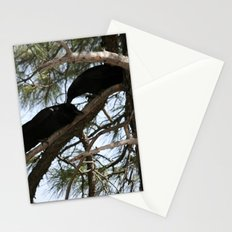 Crows in Love Stationery Cards