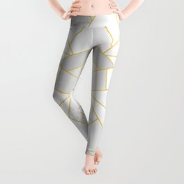 White Stone Leggings