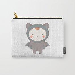 Cute Bat Kid Carry-All Pouch