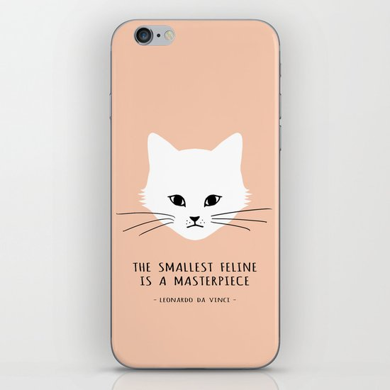 The smallest feline iPhone & iPod Skin
