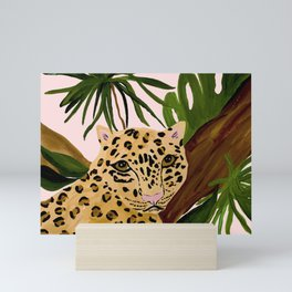 LEOPARD Mini Art Print