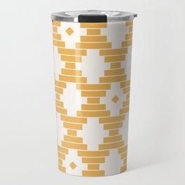 Bari Geometric Dots Travel Mug