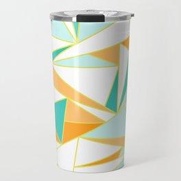 PUMPKIN GLASS WINDOW Travel Mug
