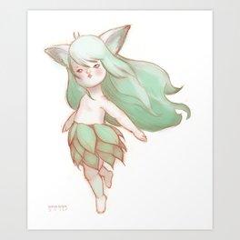 Soft Ears Art Print