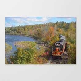 Adirondack Mountain Scenery Canvas Print