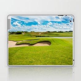 golf course Laptop & iPad Skin